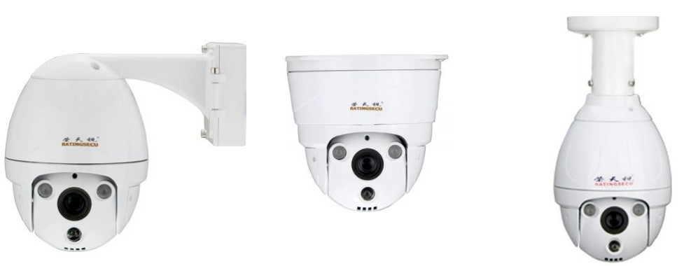 Ratingsecu R500 mini ip high speed dome camera zoom cameras ptz