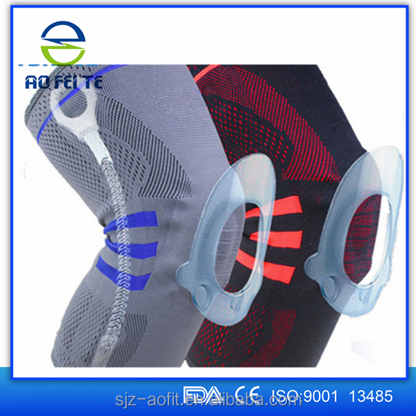 S M L Elastic Sports Leg Support Wrap Protector Patella Guard Medical Knee Brace