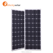 China supplier high efficiency 18v 100 watt mono solar panel with high output power
