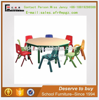 Indian Metal U0026 Wood Material Kids Study Table Chair