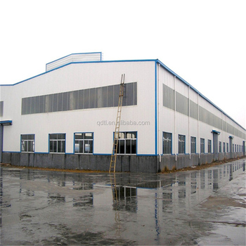 Two story prefabricated stainless steel frame workshops