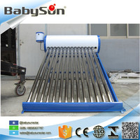 Thermosiphon vacuum tube solar water heater for South America and Africa
