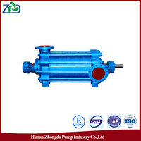 CN On-line Selling ZHONGDA MD Type High Pressure Multistage Centrifugal High Efficiency Water Pump for Mining Industry