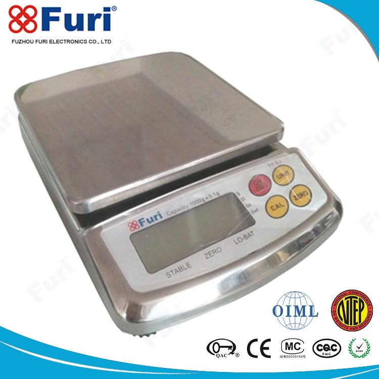 China Alibaba High Accuracy Load Cell Digital Kitchen Scale