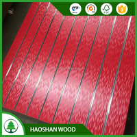 Slotted Plywood/grooved pine plywood with good quality