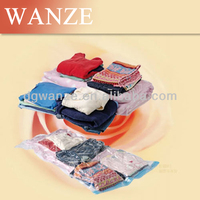 reusable and eco-friendly Foldable and Portable Hand Pump Vacuum Storage Bags