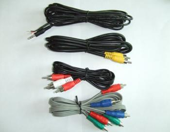 Car anti theft audio cables kit