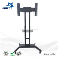 Stainless Steel Pipe Wall Hanging Plasma LCD TV Stand