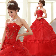 Z60569Y Red Fashion Women Red Wedding Dresses