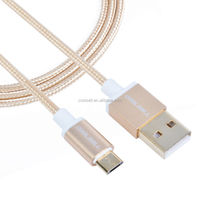 2015 hot-selling micro usb cable for Samsuny,Metal Noodle Cable,Standard USB 2.0 cable