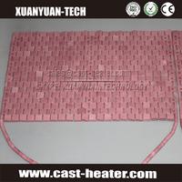 high heating flexible ceramic pad heater for pipe