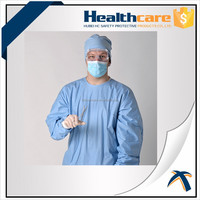 Operating gown,operation room gown,disposable sterile operating gown
