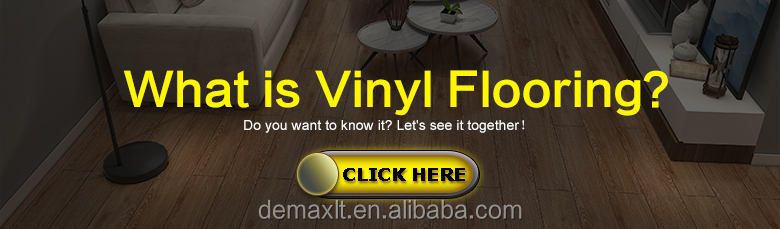 Waterproof Quick Cilck PVC Vinyl/SPC Laminate Flooring /Residential and Commercial  vinyl sheet flooring planks