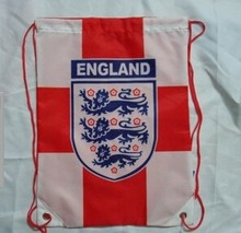 MJ-KN15 shoe bag football fans backpack drawstring bag shoulder bag customized world cup 2014