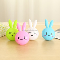 Sensor toy rabbit animal led toys baby night light sleep new turtle safe and healith family room decoration ornament