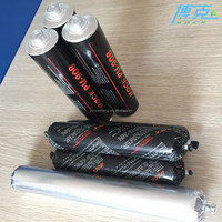 Black colour windshield polyurethane adhesive sealant for auto with 600ml in China