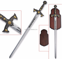 antique medieval templar knight 440 stainless steel sword replica
