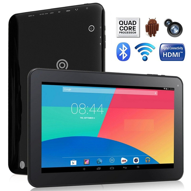 10'' HD 1024*600 A33 android free sample tablet pc