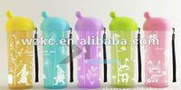 Double Layer Cup Plastic Water Bottle