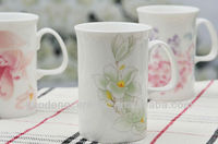 Paintable ceramics mug white mugs wholesale