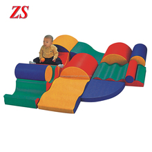 Hot sale nursery school Early Learning Kids indoor soft play equipment for sale