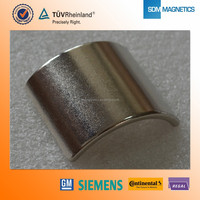 high grade n52 strong sintered ndfeb magnet made in china