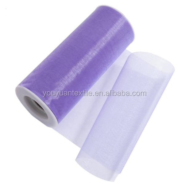 Discount super poly power hexagonal jersey soft tulle roll fabric