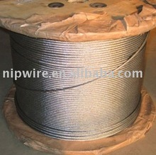 stainless steel / galvanized wire rope / pvc coated cable 7x19