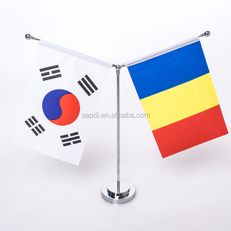 Desk Flags, Table Flag Stand