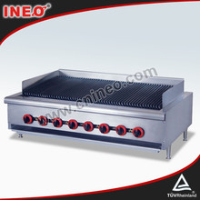 Restaurant Table Top Commercial Kitchen Gas BBQ Grill/Fish Grill Equipment/Portable Gas BBQ Grill