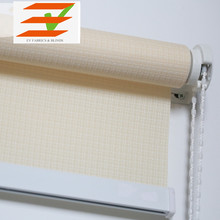 New style waterproof sunscreen fabric manual roller blinds and curtains