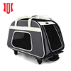 2018 Amazon Folding Pet Stroller Dog Puppy Cat Trolley Carrier Travel Airline Rolling Cage Crate Kennel
