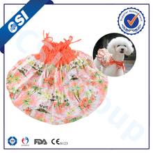 OEM available cute skirt pet clothing