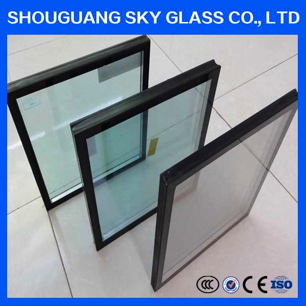 High Quality Colored Tempered Insulated Building Glass Wall Glass price