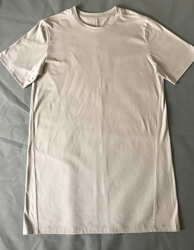 Men's Short Sleeve O-Neck longline plain 50 polyester 25 cotton 25 rayon t shirt