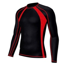 Men's Soft Slim Long Sleeve Dry-Fit Compression Gym Trainning Shirt