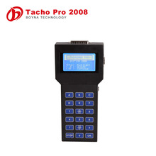 2015 Unlocked version tacho pro 2008 car mileage reduce tool tacho pro update with full kits
