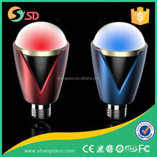 New Designed! 30W Nano Oilless Bearing Fan high power e27 led rgb bulb