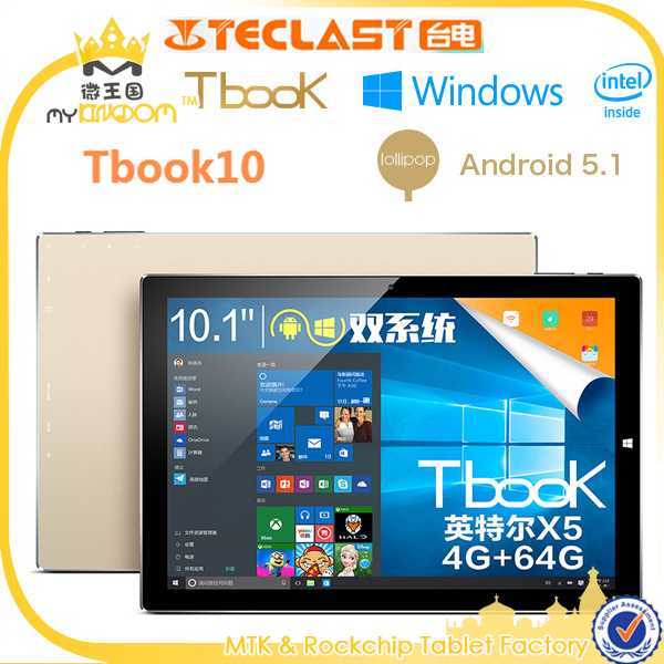 10inch Teclast Tbook10 windows 10/Android Tablet pc