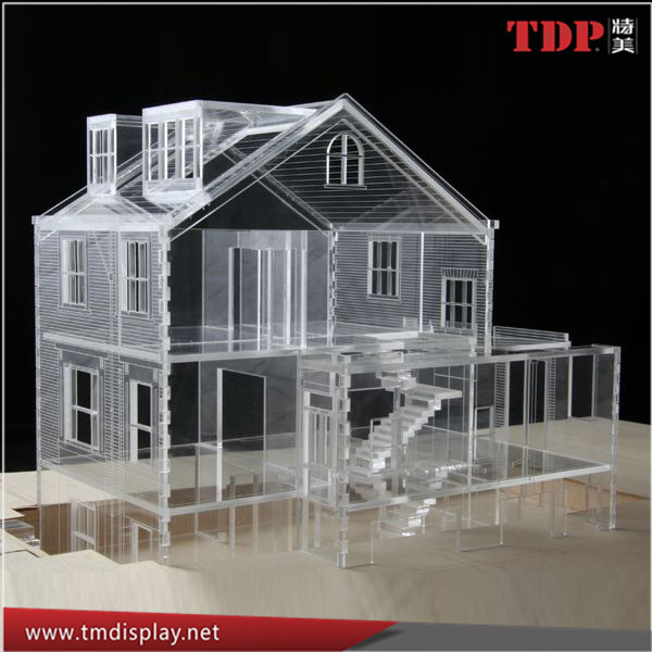 Acrylic Building Blocks Doll House,Acrylic Laser Doll House For Kids