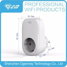Smart Home Socket Wifi Plug with GS ,CE rohs certificate