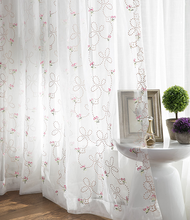 turkish modern polyester embroidered sheer curtain elegant lastest design curtain and blinds hotel cafe curtain online