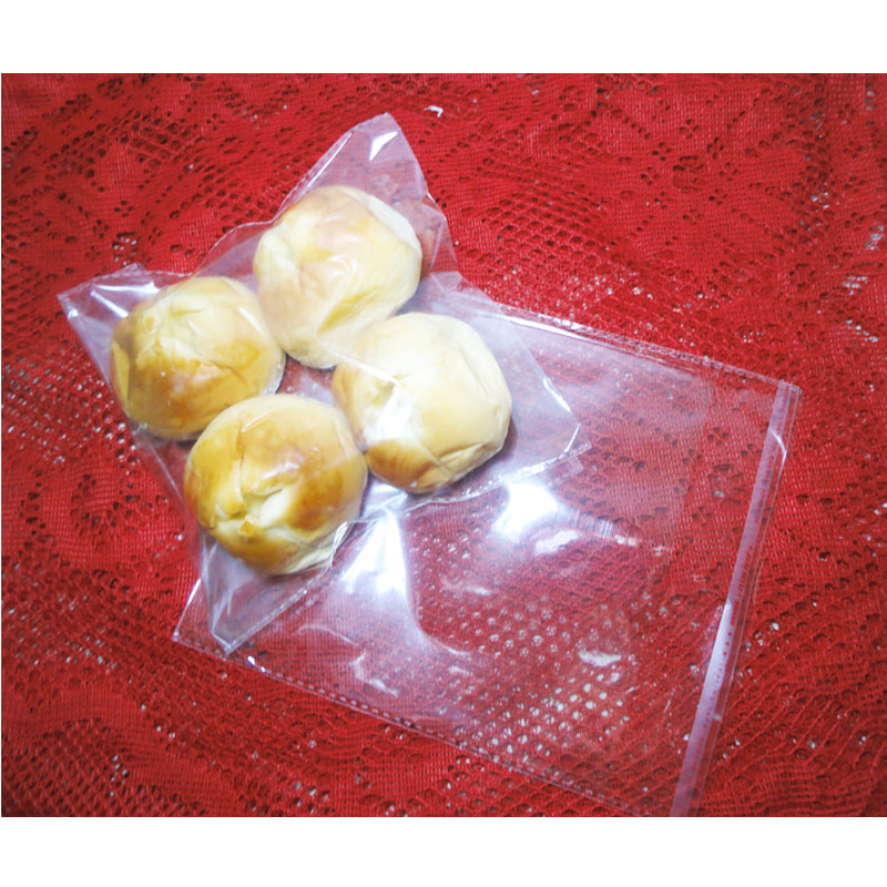 Bread self sealing bag salad bag OPP bag