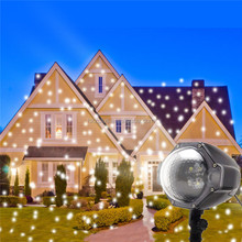 Waterproof Moving White Outdoor Snow Projector