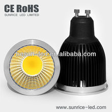 Hot selling led spot 5w gu10 led cob with 3 years warranty
