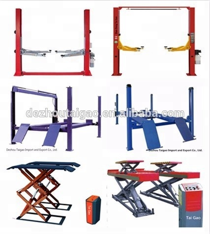 Factory price auto hydraulic used 4 post car lift for sale