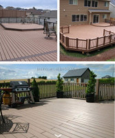High quality composite wooden deckng, wpc flooring/wpc decking/waterproof wood plastic composite board