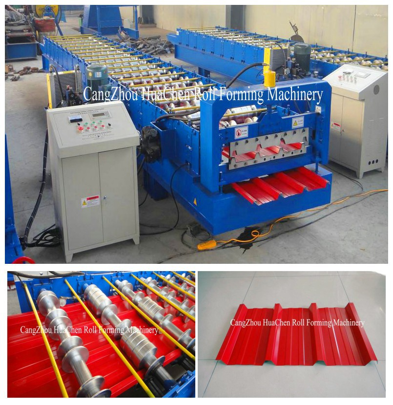HC38 High Quality Metal Sales Roofing Product Tile Making Machine