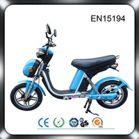 350W brushless motor green wheels electric bike made in China