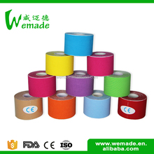 With good tensile strength muscle kinesiology tape therapy bandages and first aid dressings